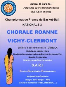 Affiche Chorale SARI